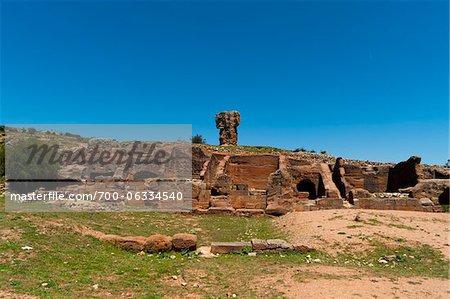 Site archéologique celtibère de Tiermes, Montejo de Tiermes, Soria, Castilla y Leon, Espagne