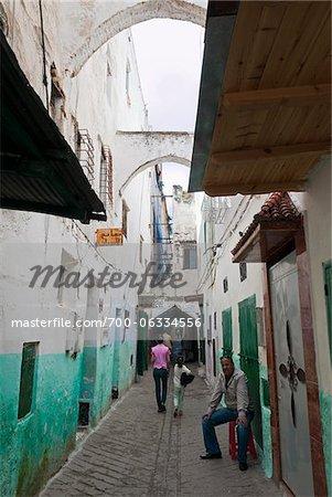 Alley, Medina, Tetouan, Morocco