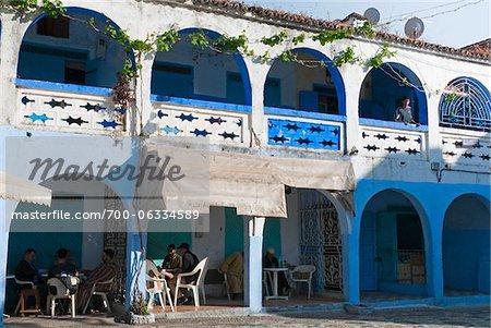 Bar, Chefchaouen, Province de Chefchaouen, région de Tanger-Tétouan, Maroc