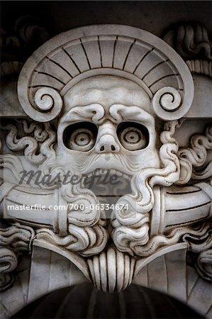 Détail, Piazza della Signoria, Florence, Italie
