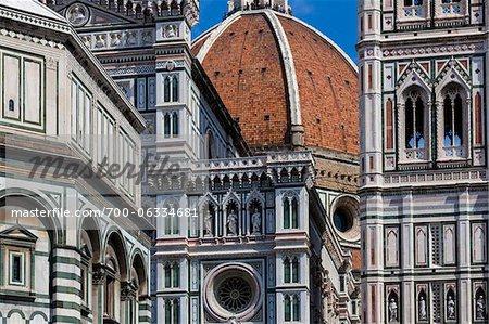Close-Up of Basilica di Santa Maria del Fiore, Florence, Tuscany, Italy
