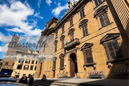 Édifice de la Cour ordinaire, Florence, Toscane, Italie