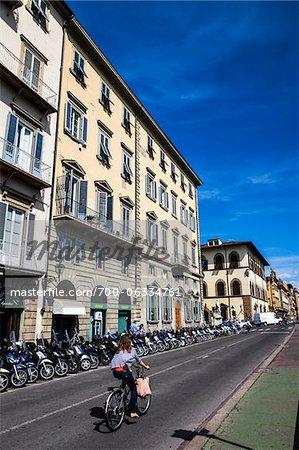 Scène de rue, Florence, Toscane, Italie
