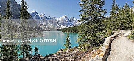 Moraine Lake, Banff Nationalpark, Kanada