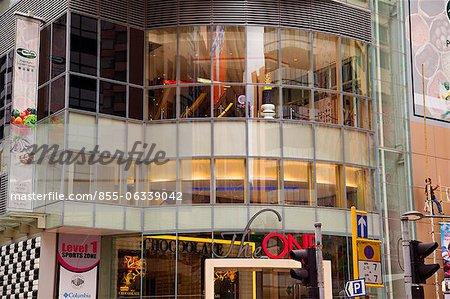 « Un » commercial construction, Tsimshatsui, Kowloon, Hong Kong