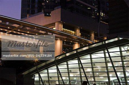 Luxueux condominium sur la gare de Kowloon, Kowloon, Hong Kong