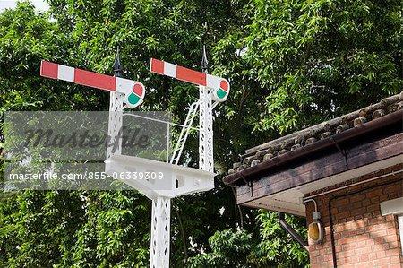 Message de signal, Hong Kong, Musée ferroviaire, Taipo, Hongh Kong