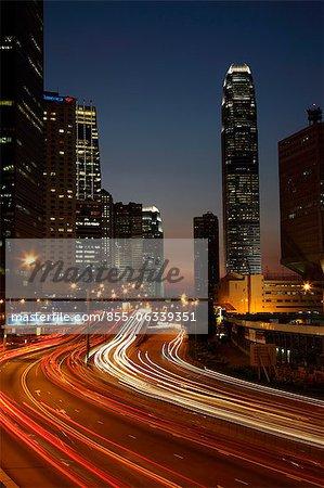 Expressway at Admiralty, Hong Kong