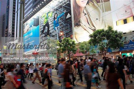 Beschäftigt Causeway Bay, Hong Kong