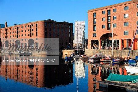 Albert Dock, Liverpool, Merseyside, Angleterre, Royaume-Uni, Europe