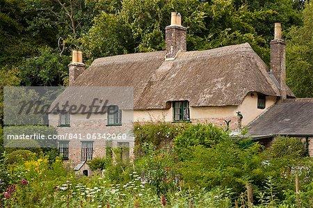 Thomas hardys Hütte, höhere Bockhampton, in der Nähe von Dorchester, Dorset, England, Vereinigtes Königreich, Europa