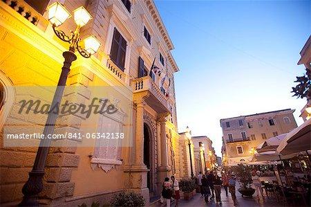 La Maddalena ville, îles de la Maddalena, Sardaigne, Italie, Europe