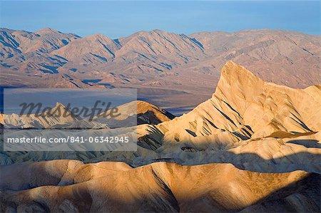 Zabriskie Point, Death Valley National Park, California, United States of America, North America