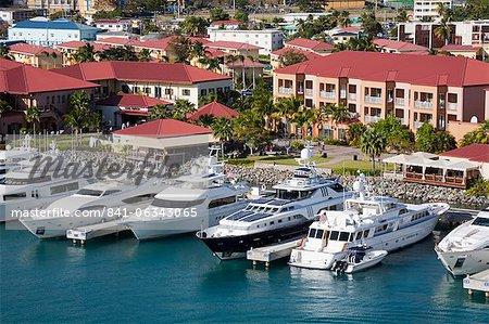 Yacht Haven Grande Marina, Charlotte Amalie, St. Thomas Island, U.S. Virgin Islands, West Indies, Caribbean, Central America