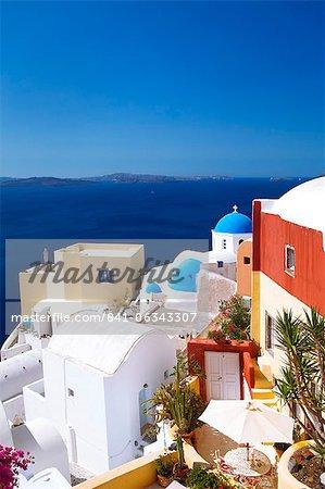 Oia, Santorini, Kykladen, griechische Inseln, Griechenland, Europa