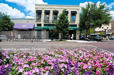 Centre-ville, Winter Park, Floride, États-Unis d'Amérique, l'Amérique du Nord