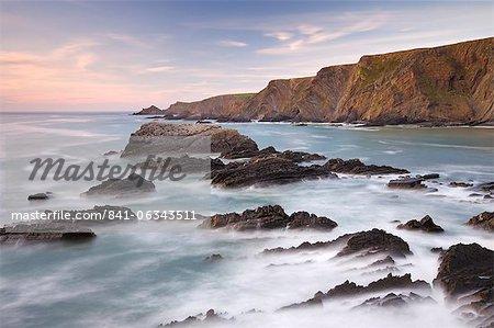 Hartland Point from Hartland Quay, Devon, England, United Kingdom, Europe