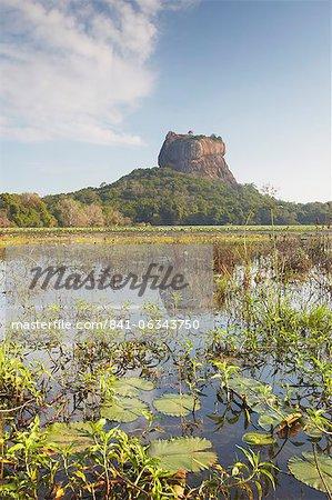 Sigiriya, Site du patrimoine mondial de l'UNESCO, Province centrale du Nord, Sri Lanka, Asie