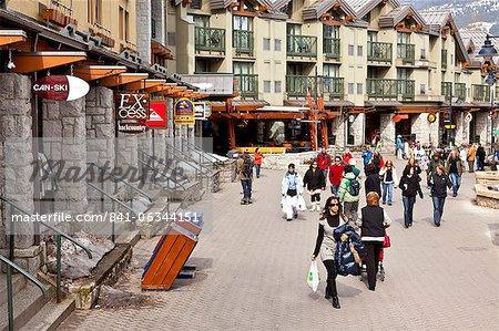 Whistler Blackcomb Ski Resort, Whistler, British Columbia, Canada, en Amérique du Nord