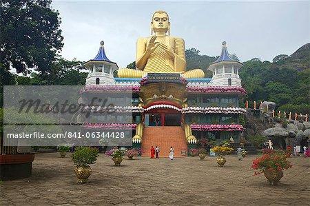 Golden Temple of Dambulla, UNESCO, World Heritage Site, Sri Lanka, Asia