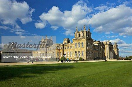 Palais de Blenheim, patrimoine mondial de l'UNESCO, Woodstock, Oxfordshire, Angleterre, Royaume-Uni, Europe