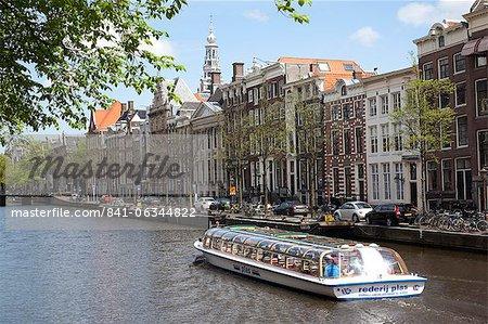 Zuiderkerk et Canal, Amsterdam, Hollande, Europe