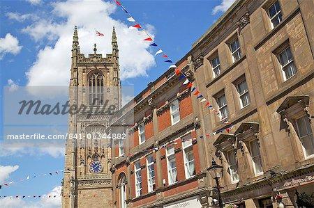 Derby Cathedral, Derby, Derbyshire, England, United Kingdom, Europe