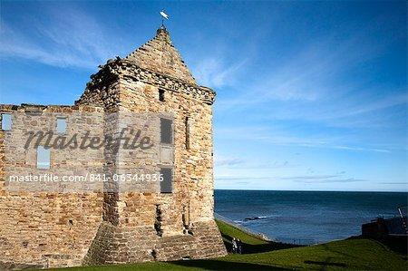 St Andrews Castle, St Andrews, Fife, Scotland