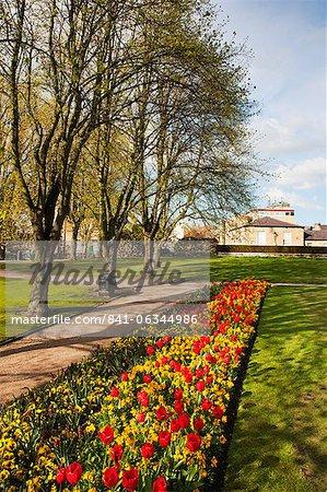Knaresborough Castle Grounds, Knaresborough, North Yorkshire, England