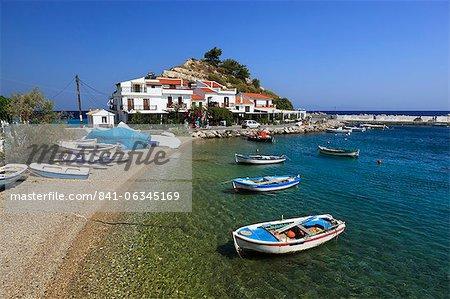 Kokkari, Samos, îles de l'Égée, Grèce