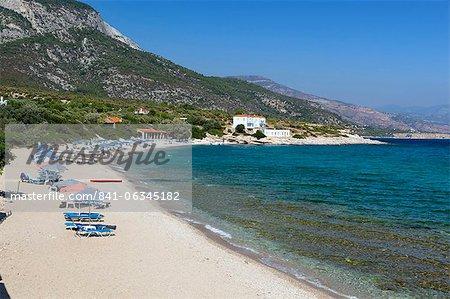 Limnionas beach, Samos, Aegean Islands, Greece
