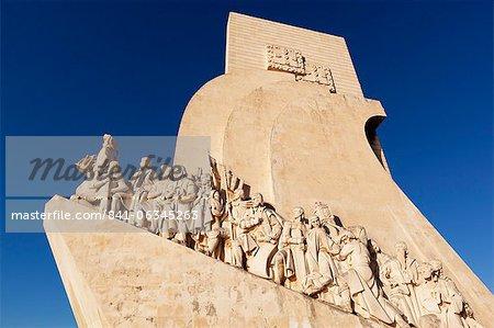 Monument des découvertes, Belém, Lisbonne, Portugal, Europe