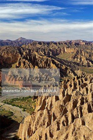Valleys and mountains of Cordillera de Chichas Range near the town of Tupiza, Bolivia, South America