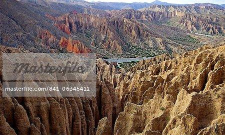 Valleys of Cordillera de Chichas Range, near the town of Tupiza, Bolivia, South America