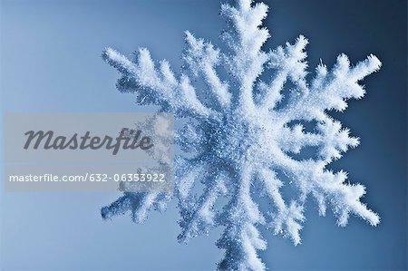 Schneeflocke-Dekoration