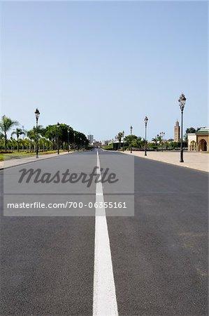 Ville rue, Rabat, Maroc