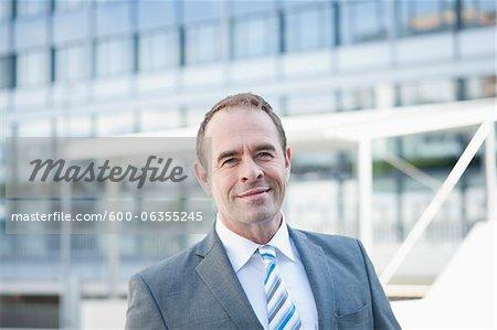 Portrait of Businessman, Niederrad, Frankfurt, Germany