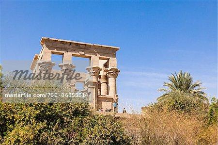 Trajan's Kiosk, Philae Temple, Agilika Island, Aswan Governorate, Egypt