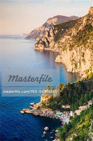 Amalfiküste, Provinz Salerno, Kampanien, Italien