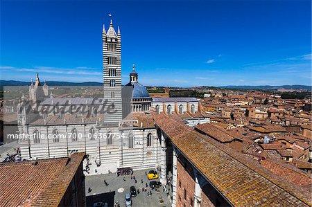 Cathédrale de Sienne, Siena, Toscane, Italie