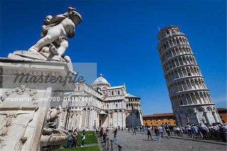 Schiefe Turm von Pisa, Pisa, Toskana, Italien
