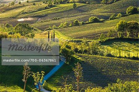 Ulignano, San Gimignano, Toscane, Italie