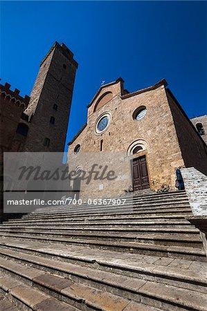 Collegiate Church of San Gimignano, Siena Province, Tuscany, Italy