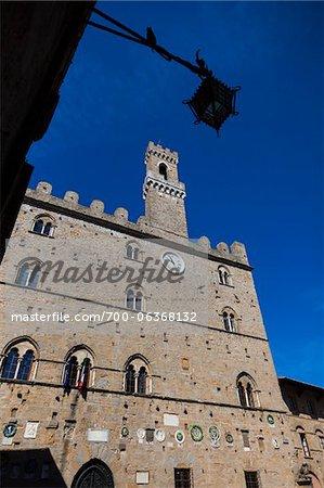 Piazza dei Priori, Volterra, Province de Pise, Toscane, Italie