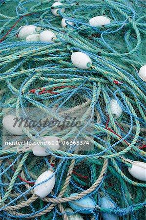 Pêche des cordes, Bretagne, France
