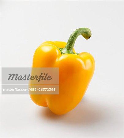 Un poivron jaune