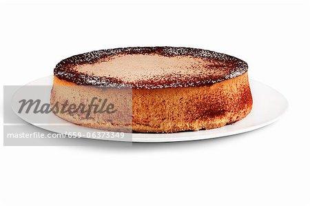 Pumpkin Cheesecake with Cinnamon