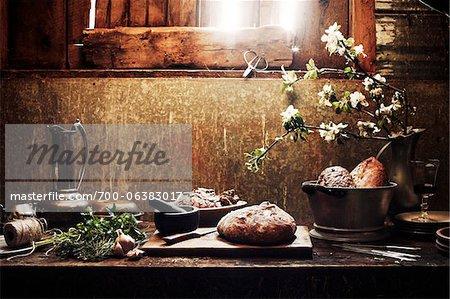 Aliments nature morte