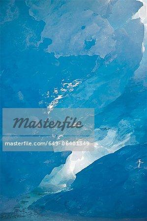 Luftbild des Fjords