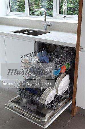 Lave-vaisselle pleine